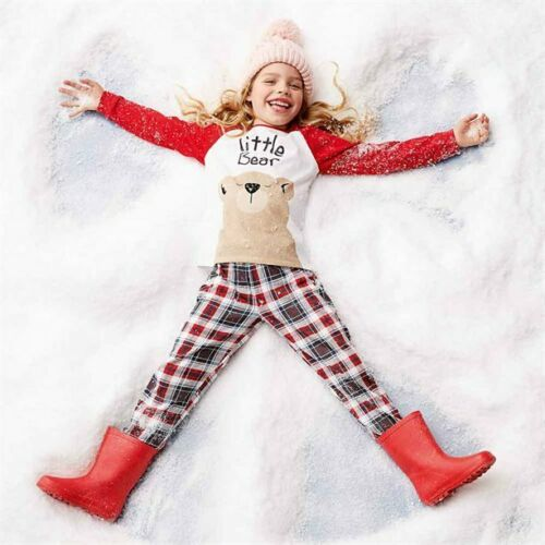 Little Bear PJs pyjamas by Avon Ages 5-10 Cotton Family sets available