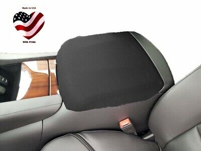 Fits Cadillac Escalade 2015-2018 Sherpa Center Armrest Console Cover C3 BLACK