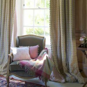 New-Susie-Watson-Pink-Green-Bloomsbury-Linen-fabric-5-metres