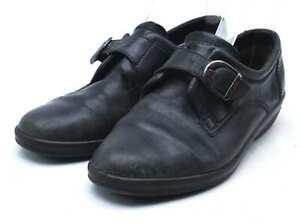 Ecco-Womens-EU-Size-41-Black-Leather-Shoes