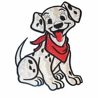 Disney's 101 Dalmations 7 Dalmation Iron/sewn On Sateen Patch