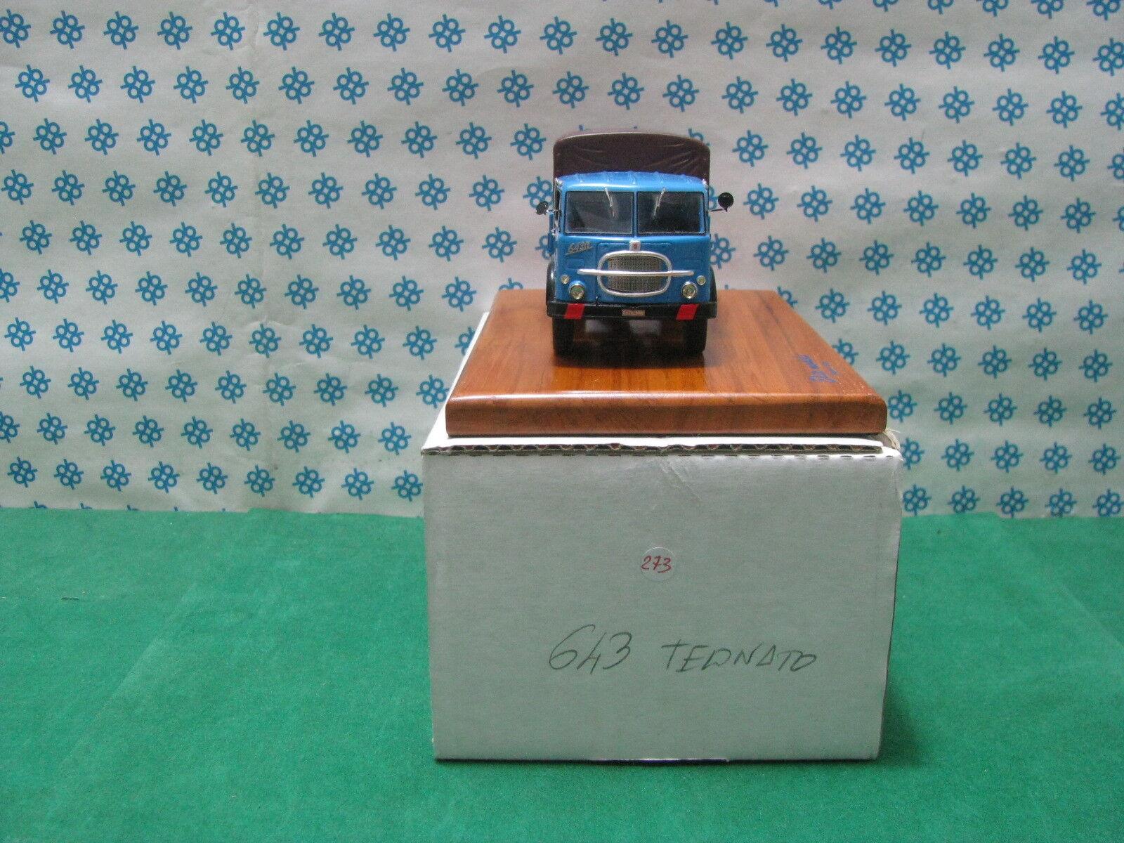 FIAT 643  avec bachè 2-Axes 1/43 Elite models    ( Gila modèles )   La Mode    Choix Des Matériaux  34c901
