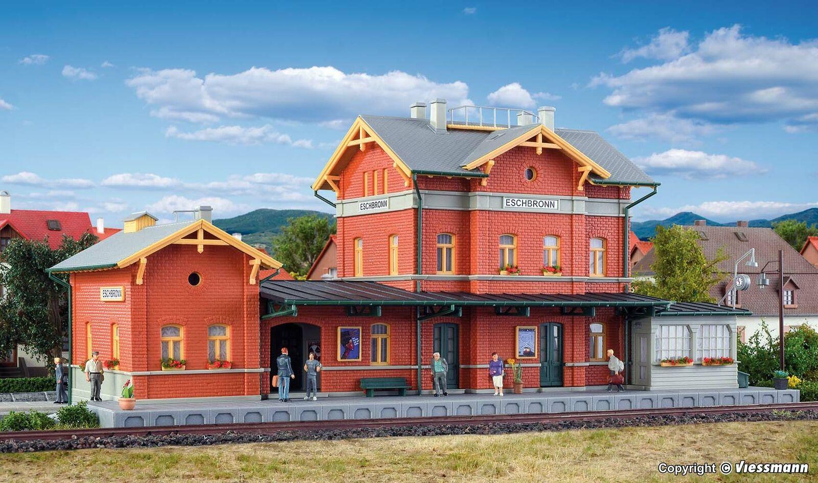 Kibri H0 39491 Bahnhof Paulinzella NEU//OVP