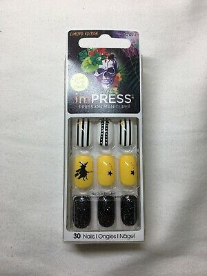 Kiss Impress Press On Nails 30 Count Teen Witch HBIPD50 ...