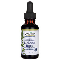 Swanson Licorice Root Liquid Extract (alcohol An 1 Fl Oz (29.6 Ml) Liquid on sale