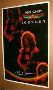 Viaje-Neal-Schon-22-X-34-Pulgadas-Original-1980-Poster