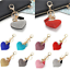Crystal-Heart-Keychain-Rhinestone-Love-Key-Chain-Hand-Bag-Key-Ring-Valentines thumbnail 1