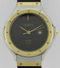 HUBLOT CLASSIC MDM GENEVE GOLD AND STEEL