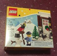 Lego 40124 Winter Fun / Christmas Seasonal Holiday Retired Set