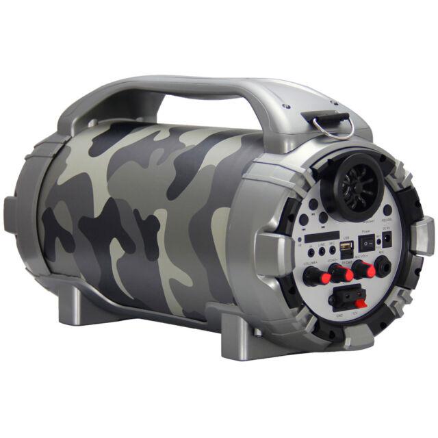 BTU-5001-R Blackmore Pro Audio PA System Red