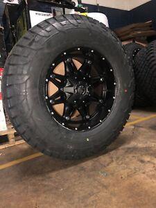 "Dodge Ram 1500 Tires >> 17x9 Fuel D531 Hostage Wheels 33"" Tires Package Dodge Ram ..."