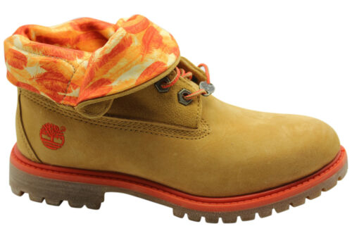 Timberland AF Auth Authentics RT Roll Top Womens Boots Wheat Leather 8764R D70