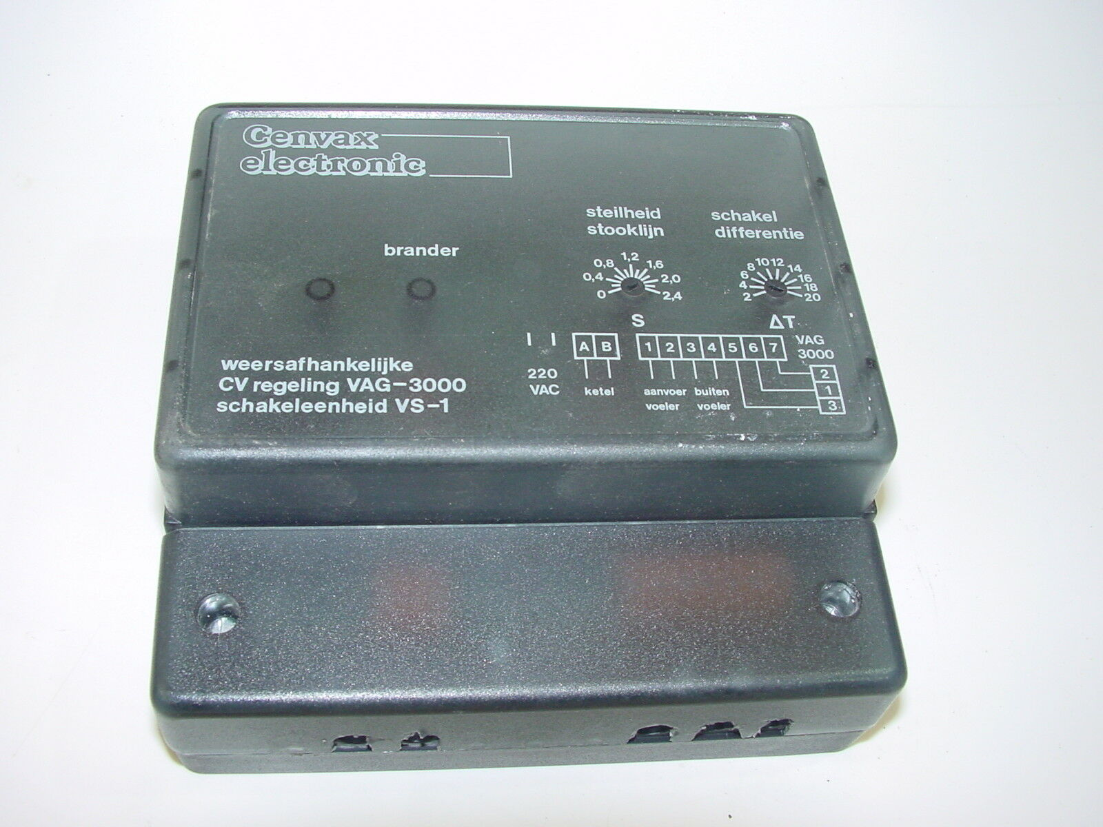 Cenvax Energycontrol VAG 3000  VS1  Transformator Relais Steuerung Heizung (42)