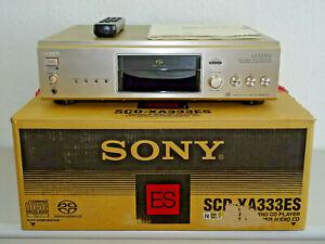 Sony SCD-XA333ES High-End SACD-Player Champagner, OVP&NEU, 2 Jahre Garantie
