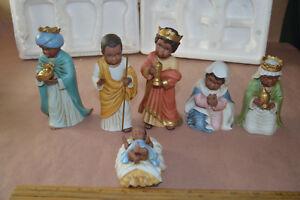 vintage home interiors homco nativity set 57076 w orig packaging ebay