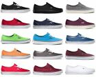 Vans Authentic Era Classic Sneakers Canvas Mens Women Off The Wall Laces