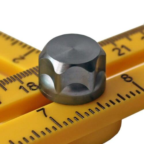 Angleizer Template Tool Extra Durable Angle Ruler with Metal Joint Knobs