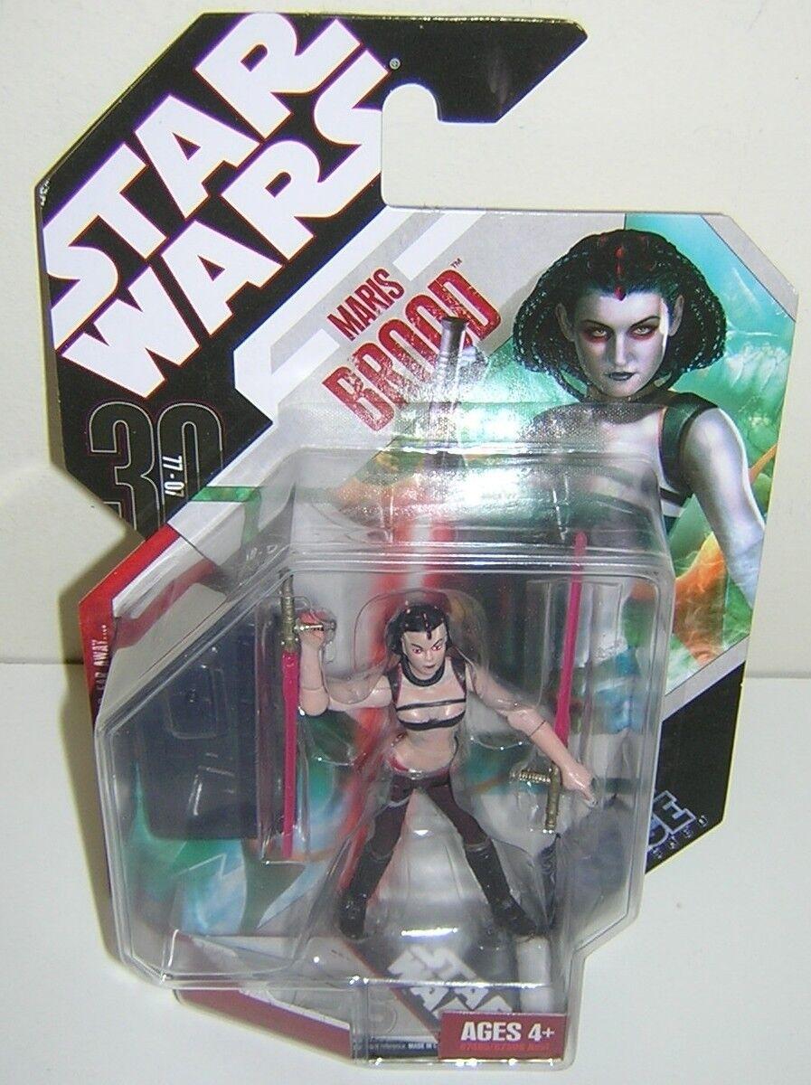 estrella guerras 30th Anniversary TAC Force Unleashed Maris Brood