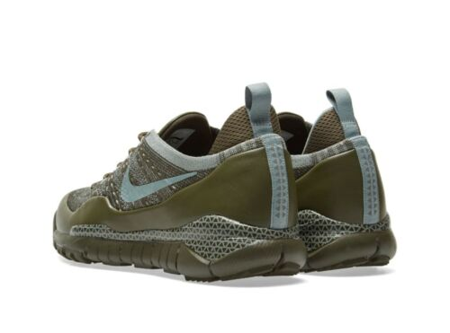 deporte hombre Zapatillas eu38 Lupinek us6 5 Flyknit Uk5 5 Low para Nike 882685 Khaki de 300 55wqCr0