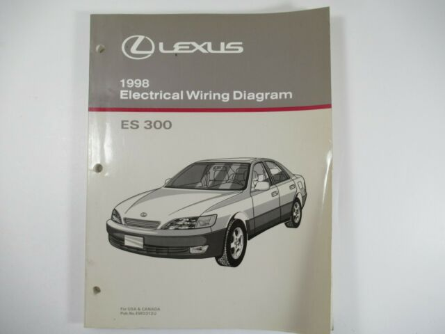 Oem 1998 Lexus Es 300 Electrical Wiring Diagram Pub  No