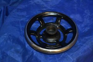 DAMASCUS ELECTRIC SEWING MACHINE ORIGINAL PARTS HANDWHEEL IN GOOD CONDITION USED