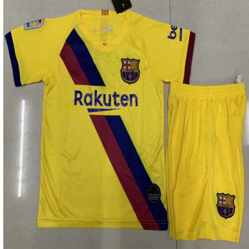 19//20 Football Kids//Adults Full Training Kits Soccer Shirt Shorts Socks Outfits