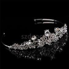 Wedding Bridal Rhinestone Headband Crystal Tiara Crown Headpiece Hair Jewelry