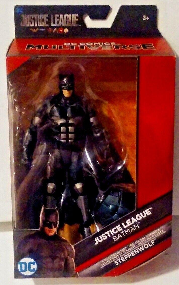 DC Comics Multiverse Justice League Batman Steppenwolf with Steppenwolf Batman Chest New MISB a7cac8