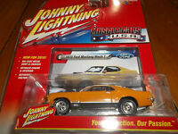 Johnny Lightning 1/64 Orange 1970 Ford Mustang Mach Muscle Cars Usa 2016 Series