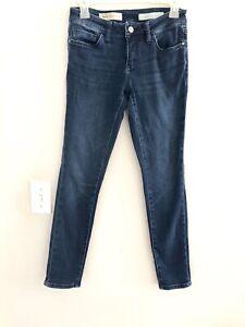Anthropologie-Pilcro-and-the-Letterpress-stet-Skinny-jeans-dark-wash-SZ-26