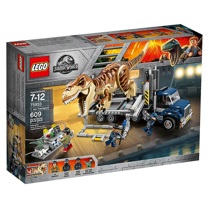 Lego Jurassic World T.Rex Transport 75933 NEW