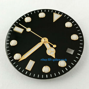 28-5mm-black-sterile-watch-Dial-For-DG2813-Miyota-82-Series-movement-dial-hands