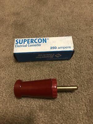 1 Superior Electric Supercon Socket Plug 100 Amp RS100GB Black