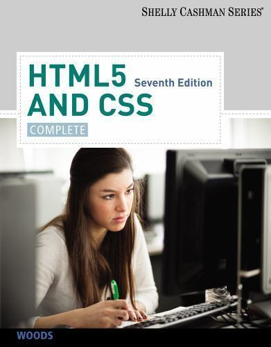 HTML5 and CSS: Complete, Woods, Denise M., Good Condition, Book