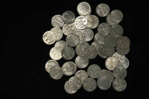 Germany/Empire Inflationszeit 50 x 3 Mark 1922 A XF; Vz-Prfr