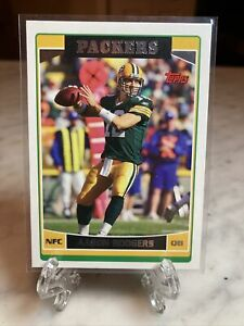 2006 Topps Aaron Rodgers 2nd year rookie card!! Card #84