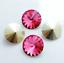 6pcs-14mm-Rivoli-Chaton-Acrylic-Rhinestone-CHOOSE-A-COLOUR miniature 9