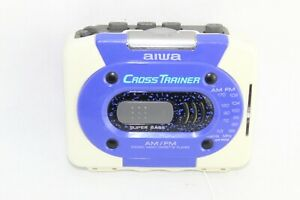 Aiwa-Cross-Trainer-HS-SP300W-All-weather-Personal-Cassette-Player-W-Belt-Clip