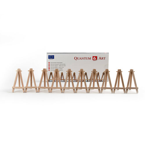 10x MINI WOODEN FOR WEDDING PLACE NAME HOLDER OR CAFE TABLE NUMBER