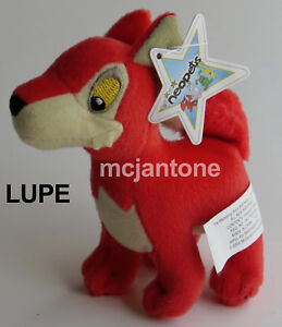 LOOSE-NO-TAG-McDonald-039-s-2004-Neopets-LUPE-Small-Plush-WOLF-Neopet-CHOOSE-COLOR