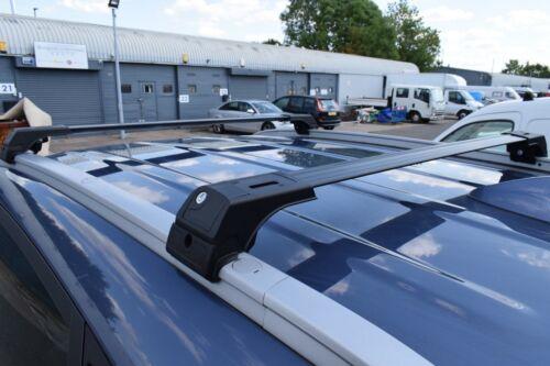 Dachträger aus Aluminium Querträger Schwarz KIA OPTIMA SPORTSWAGON 2016