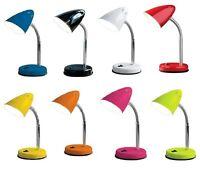 FLEXI NECK DESK STUDY OFFICE TABLE BED SIDE LAMP STUDY NIGHT LIGHT