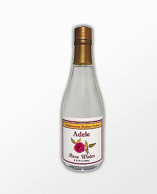 Adele Rose water 33% more than Leading brands Hydrosol Toner 13.5 Oz 400 ml