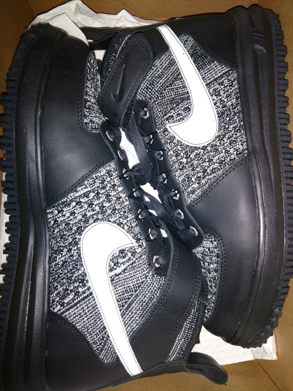Nike Women's LF1 Flyknit Workboot Hi Top 860558 001 Size 9.5 Retail    New