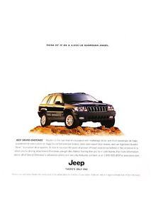 2001-Jeep-Grand-Cherokee-Angel-Vintage-Advertisement-Car-Print-Ad-J424