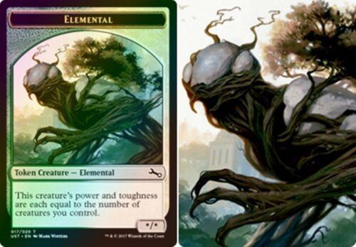 MTG Unstable ELEMENTAL TOKEN x4 Magic the Gathering MINT FOIL