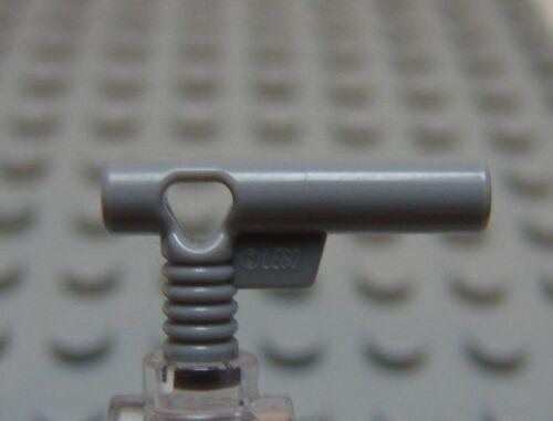 NEW Lego Lot//2 Minifig Gray HAND GUNS Police Agent Gun Pistol Weapon Nozzle Set