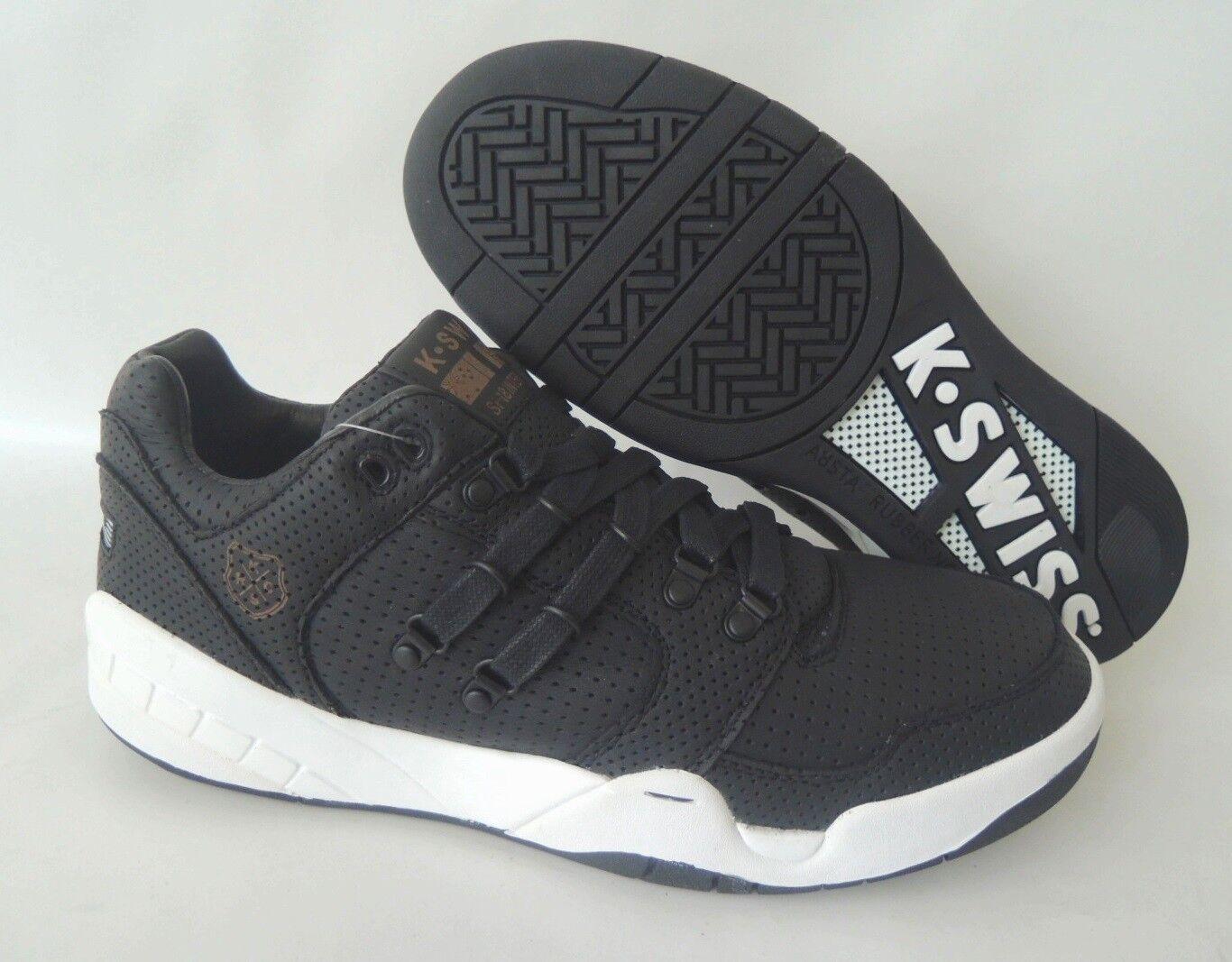 NEU K-Swiss Si-18 International Lux N 44,5 Sneaker Schuhe Boots 03790-002-M TOP