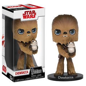 Funko-Star-Wars-The-Last-Jedi-Wobblers-Chewbacca-Figure-NEW-Toys-Collectibles