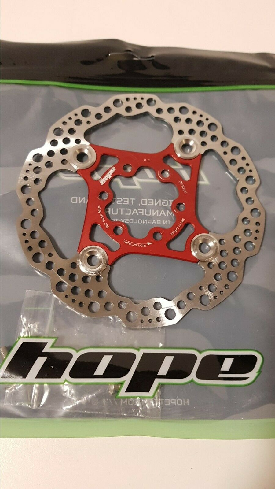 Hope 6 Bolt Floating Disc redor - All colors and Sizes - Brand New